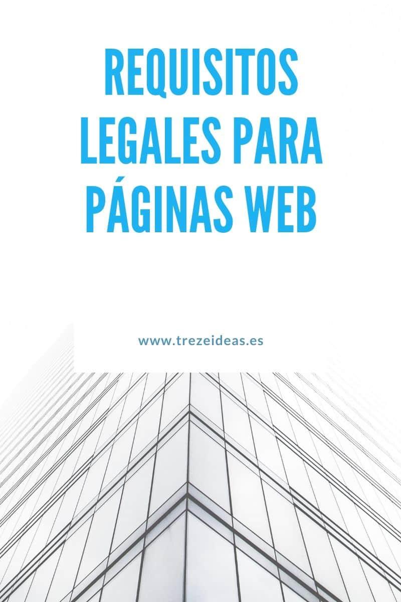 Requisitos Legales Para Paginas Web